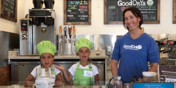 Avocado Chocolate Pudding with Good On Ya Restaurant in Encinitas, CA