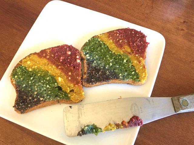 Unicorn & Leprechaun Rainbow Toast