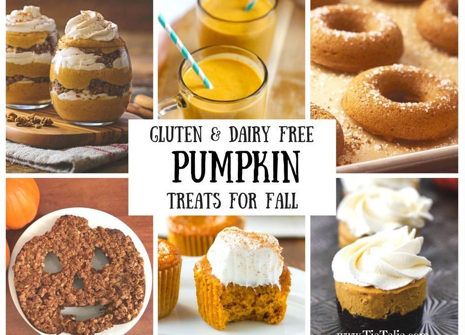 Gluten & Dairy Free Pumpkin Treats For Fall