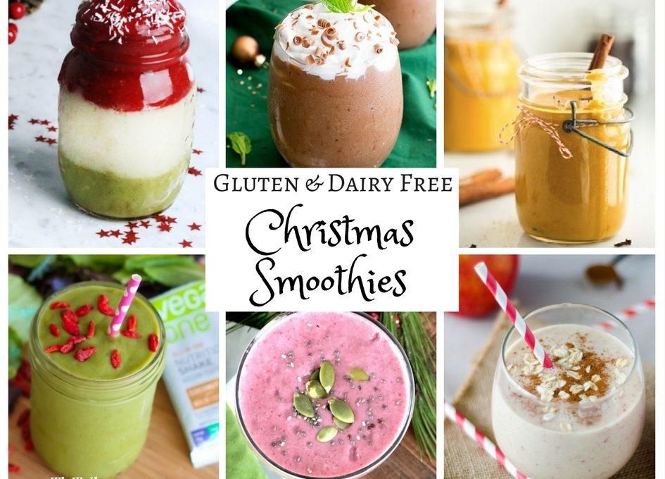 Gluten & Dairy Free Christmas Smoothies