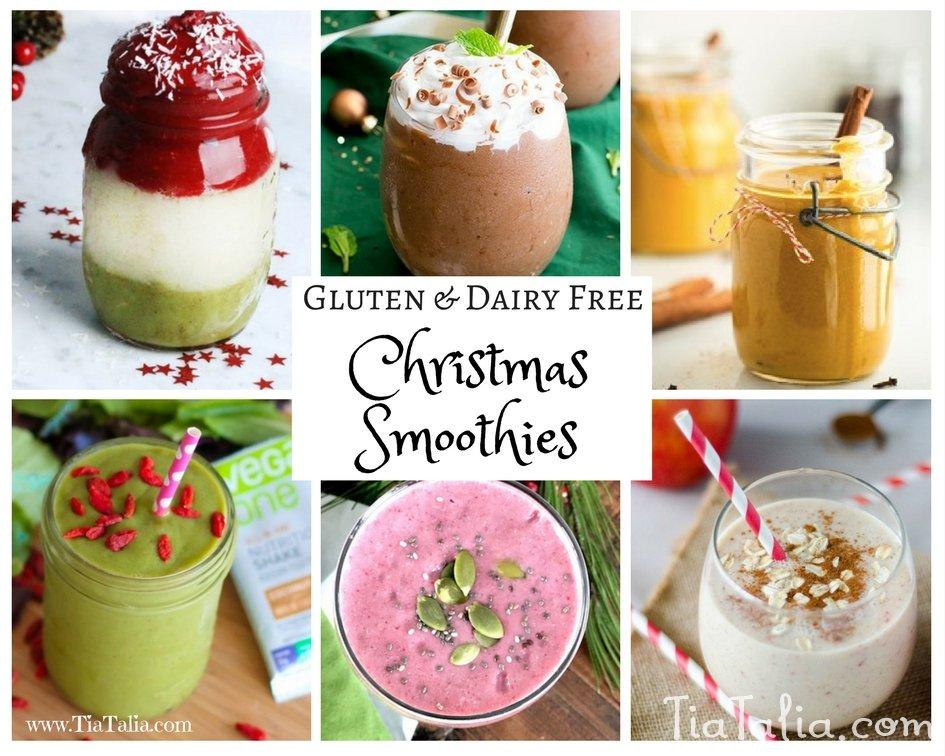 Gluten Dairy Free Christmas Smoothies Tia And Talia S Tasty Treats